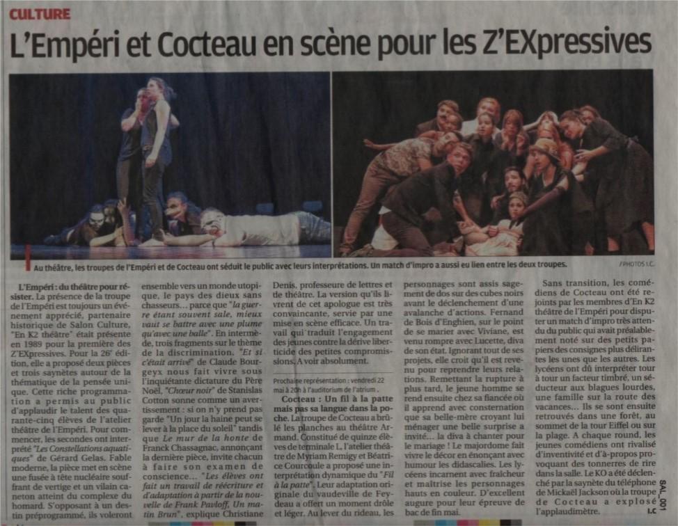 art. Z théâtre 2015