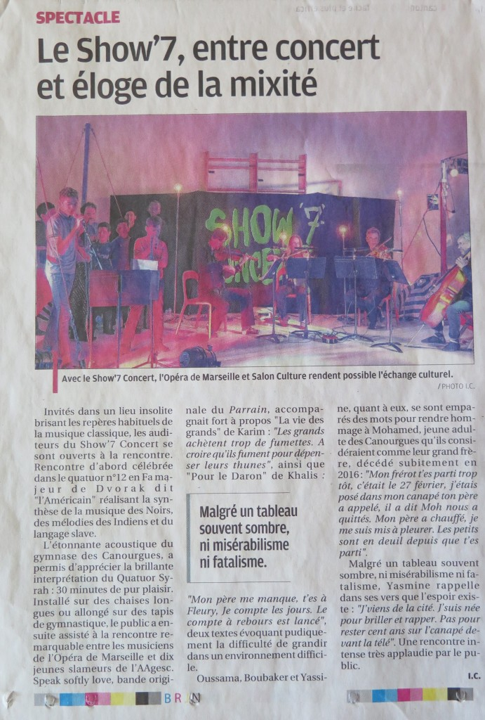 article provence show7 2016